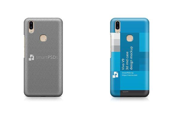 Vivo V9 3D IMD Case Design Mockup