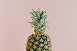 Art view of fresh pineapple