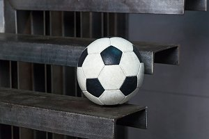 soccer ball with