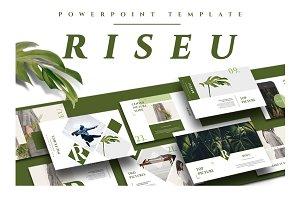 RISEU Powerpoint Template