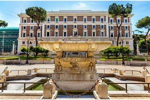 Fountain in front of the Palazzo del Viminale - Rome
