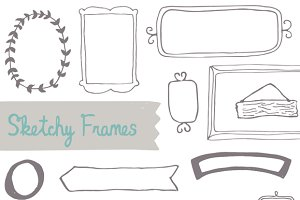 Sketchy, Hand-drawn Frames