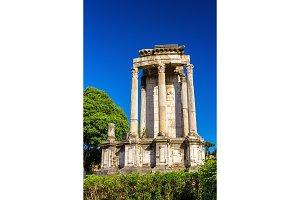 Temple of Vesta in the Roman Forum, Italy