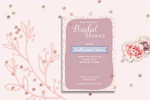 Bridal Shower Point Invitation