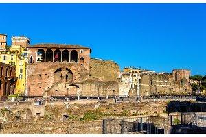 Casa dei Cavalieri di Rodi at the Forum of Augustus in Rome