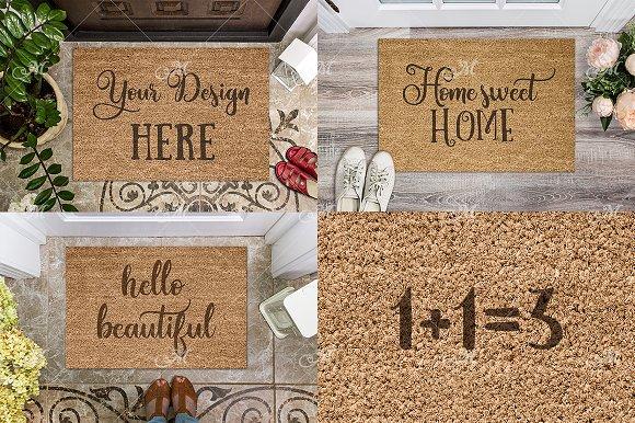 Doormat Mock-ups Bundle