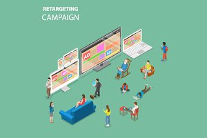 Re-targeting campaign