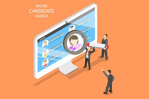 Online candidate search