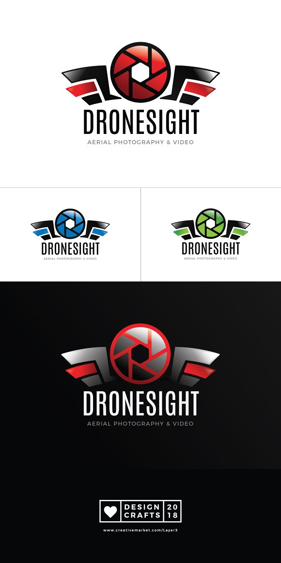 Drone Photography Logo