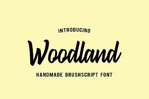 Woodland - Font