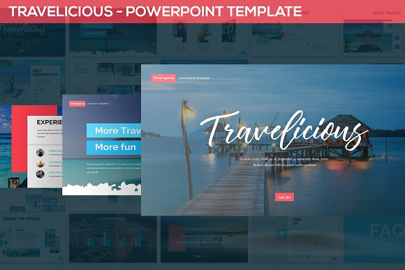 Travelicious - Powerpoint Template