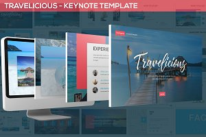 Travelicious - Keynote Template