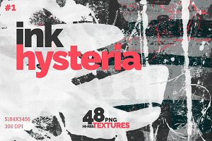Ink Hysteria | Texture Collection #1