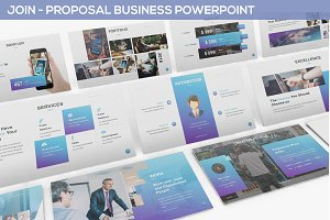 JOIN - Proposal Business Powerpoint