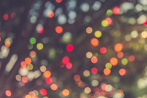 Abstract background blurred lights