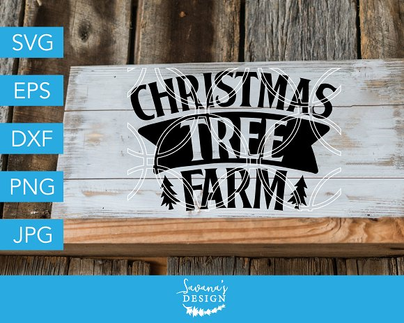 Christmas Tree Farm SVG Cut File