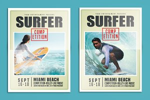 Surfing Flyer Competition