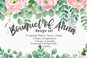 Bouquet of Anna Graphic Set