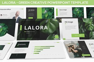 Lalora - Green Business Template