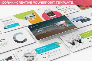 Corak - Creative Powerpoint Template