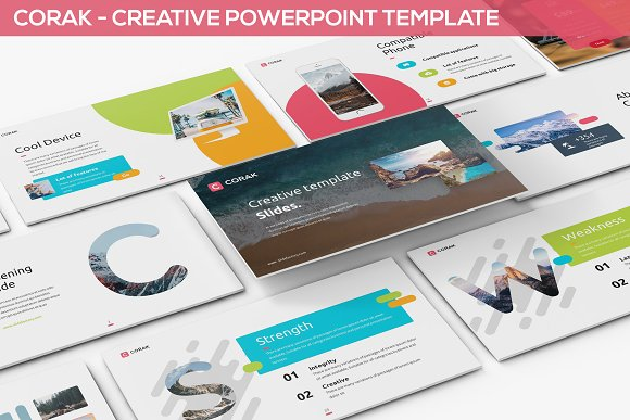 Corak Creative Powerpoint Template