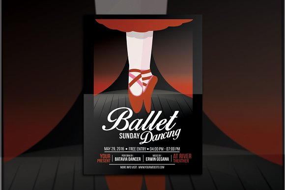 Ballet Dance Event Flyer