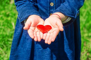 The heart is in the hands