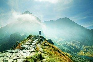 Tatra mountains landscpae