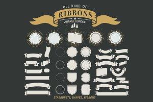 70+ Vintage Ribbons