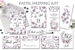 Pastel Wedding Suit