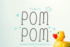 Pom Pom : Cute Handwritten font