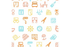 Home Decor Pattern Background