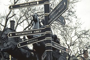 London Street Signpost.