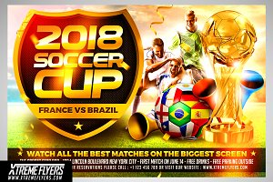 World Cup Flyer Template