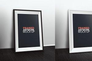 Framed Art Mock-Up