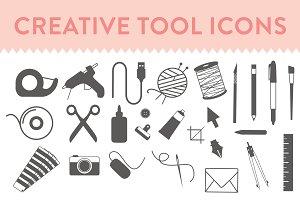 Creative Tool Icons