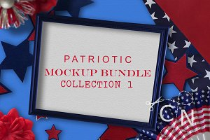 Patriotic Mockup Bundle Collection