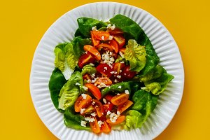 Fresh healthy salad