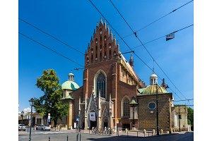 Dominican Basilica of the Holy Trinity in Krakow - Poland