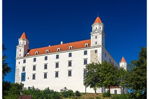 View of Bratistava Castle - Slovakia