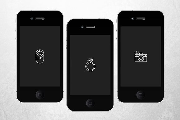 PHOTOGRAPHY Theme Instagram Icons in Instagram Templates - product preview 2