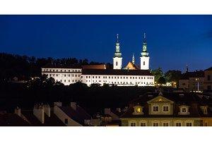 Strahov Monastery in Prague, Czech Republic