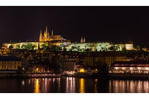View of Prague Castle (Prazsky hrad) - Czech republic
