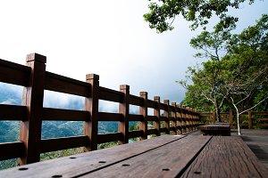 Balcony in the mountain