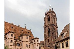 St. George Church in Selestat - Alsace, France