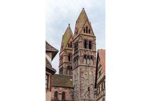 St. Faith's Church, Selestat - Alsace, France