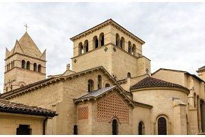 Basilica of Saint-Martin d'Ainay, 11th century church in Lyon, F