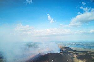 Beautiful Nicaragua landscape