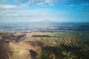 Nicaragua nature theme