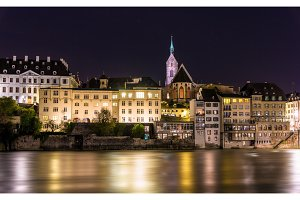 View of Basel old city - Switzerland